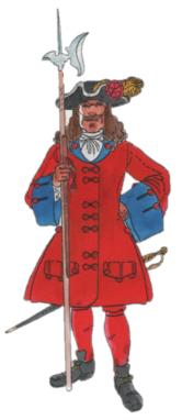 Cia Corders canem Sergent 1706