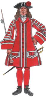 Tambor major 1711