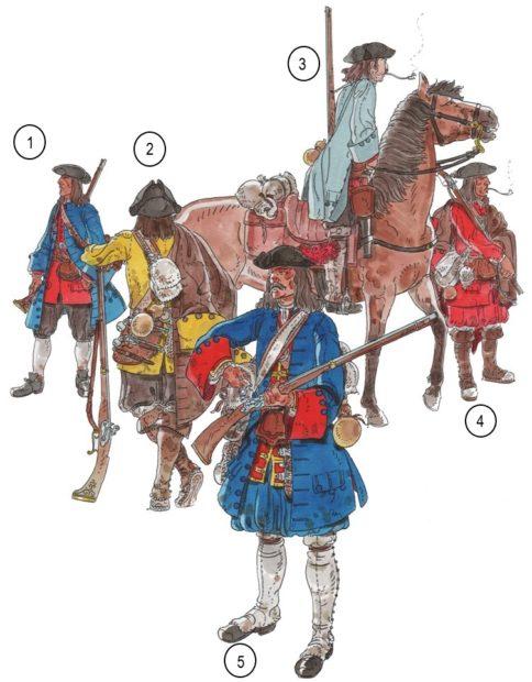 Fusellers i milicies 1705-1713 pag 103