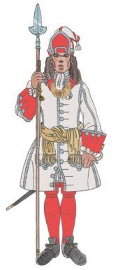 5 Tinent amb faixa Granaders