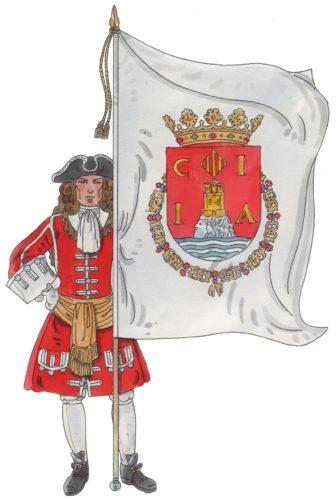 Rgt. John Richards 1710