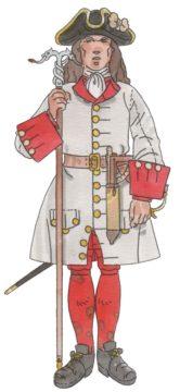 Regiment d'artilleria 1709