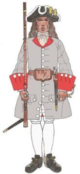 Regiment de Districte Josep A. de Rubí 1707